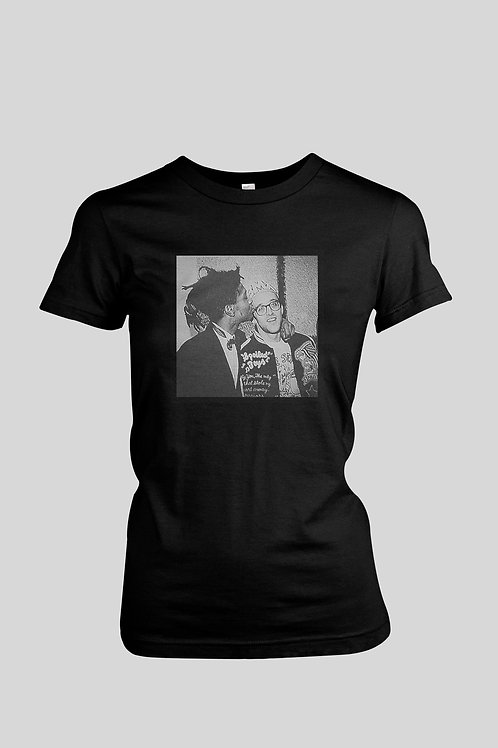 Jean Michel Basquiat and Keith Haring Women's T-Shirt