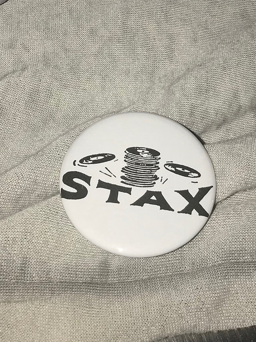 """Stax Records 2.25"""" Big Button"""