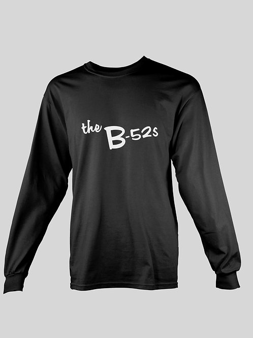 The B-52's Logo long Sleeve T-Shirt