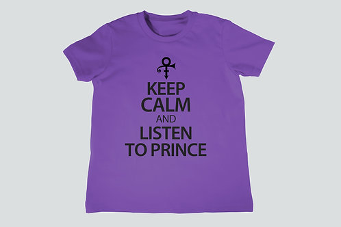 Keep Calm And Listen To Prince Youth T-Shirt