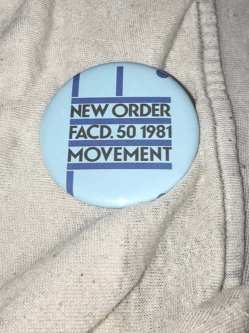 """New Order 2.25"""" Big Button"""