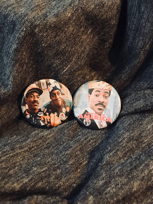 """Coming To America 1.25"""" Magnets"""
