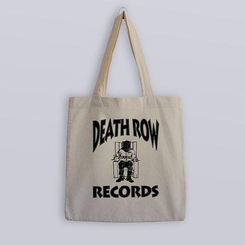 Death Row Records Logo Tote Bag