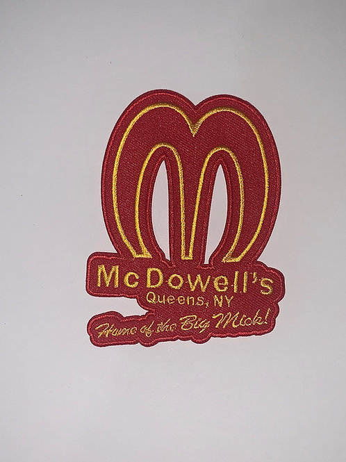 McDowell's - Coming To America Patch