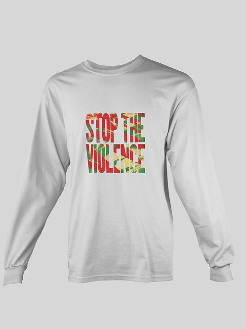 BDP Stop The Violence long Sleeve T-Shirt