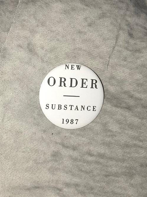 """New Order Substance 1987 2.25"""" Magnet"""