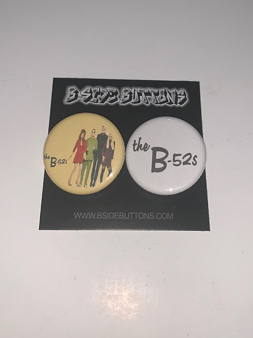 """The B-52's Button Pack - Size: 1.25"""""""