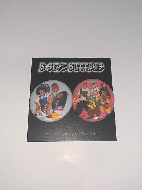 """TLC Button Pack - Size: 1.25"""""""