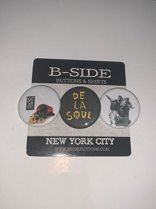 """De La Soul Button Pack - Size: 1.25"""""""