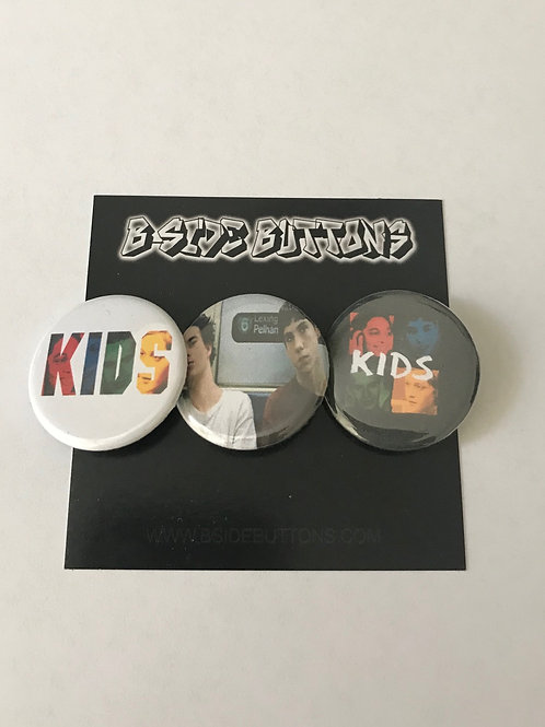 Kids - the film Button Pack - Size: 1.25""