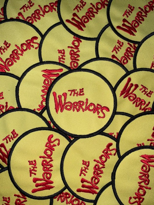 The Warriors Movie Patch (red and yellow)