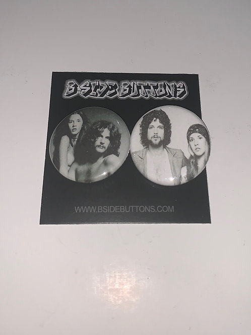 "Fleetwood Mac Button Pack - Size: 1.25"""