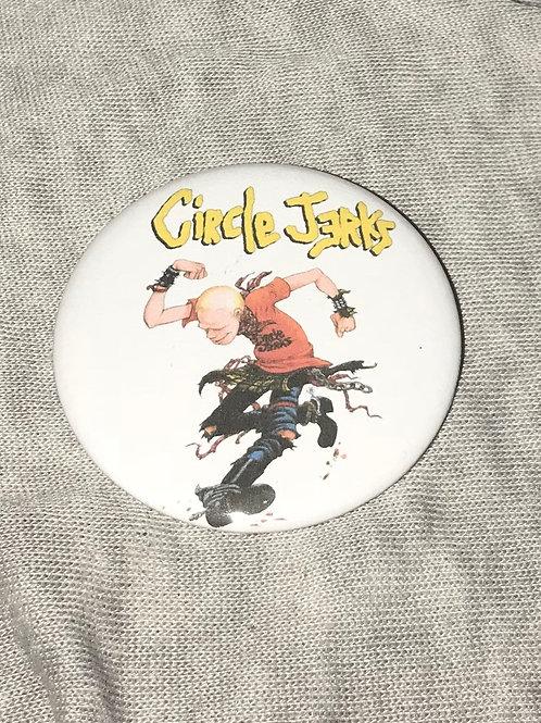 "Circle Jerks 2.25"" Big Button"