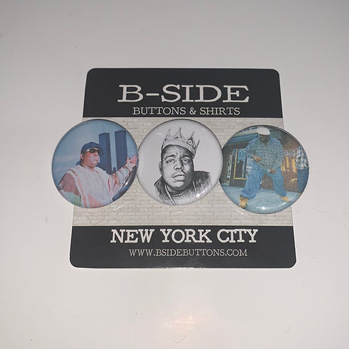 "Notorious B.I.G. Button Pack - Size: 1.25"" (v.2)"