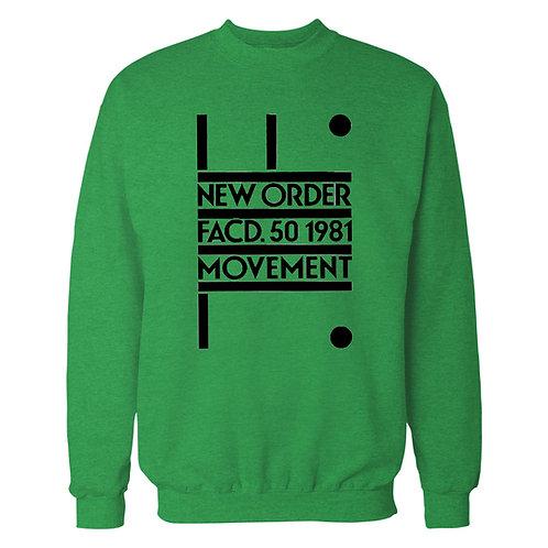 New Order FACD. 50 1981 Movement Sweatshirt