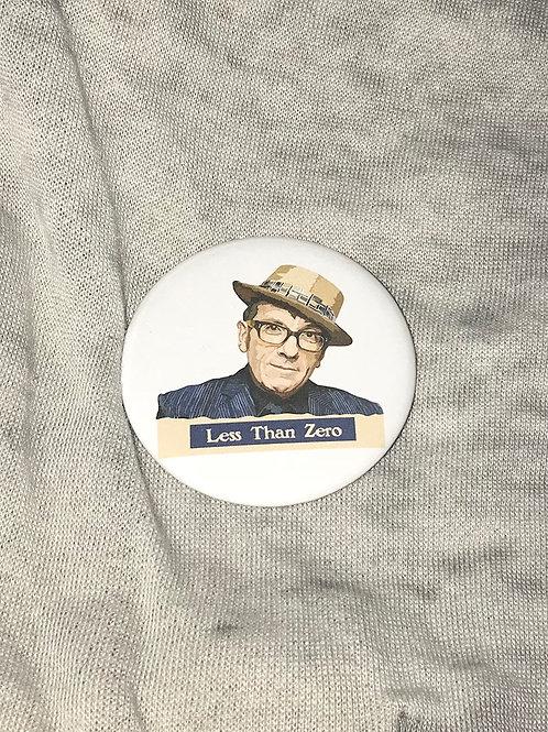 """Elvis Costello 2.25"""" Big Button"""
