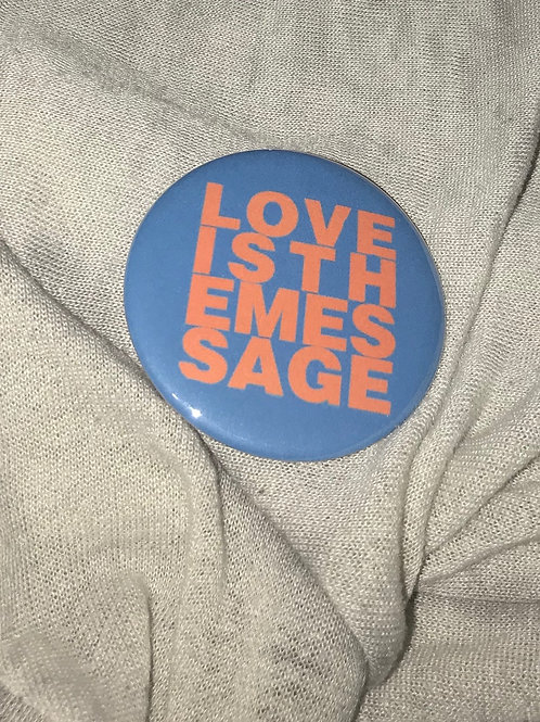 """Love Is The Message 2.25"""" Magnet"""