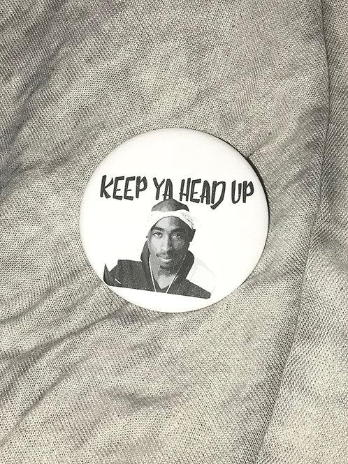 Tupac Shakur Bottle Opener Keychain
