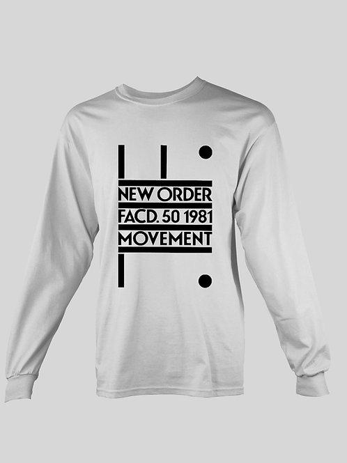 New Order FACD long Sleeve T-Shirt