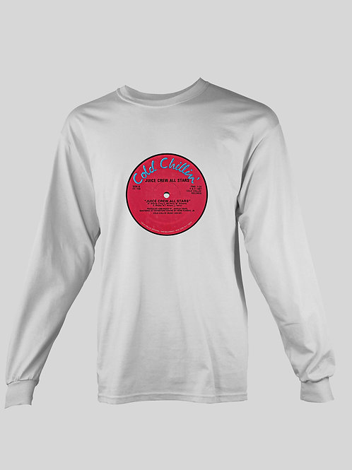Cold Chillin' Vinyl record long Sleeve T-Shirt