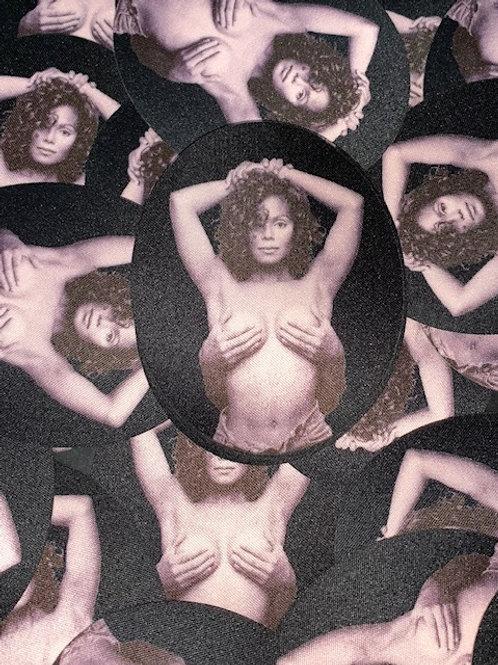 Janet Jackson oval Patch