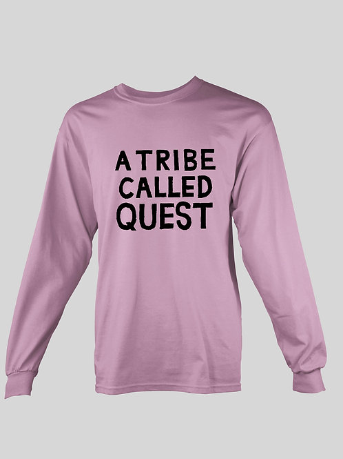 A Tribe Called Quest Text logo long Sleeve T-Shirt