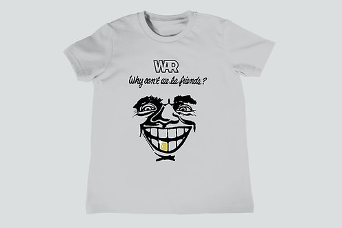 War Why Can't We Be Friends Youth T-Shirt