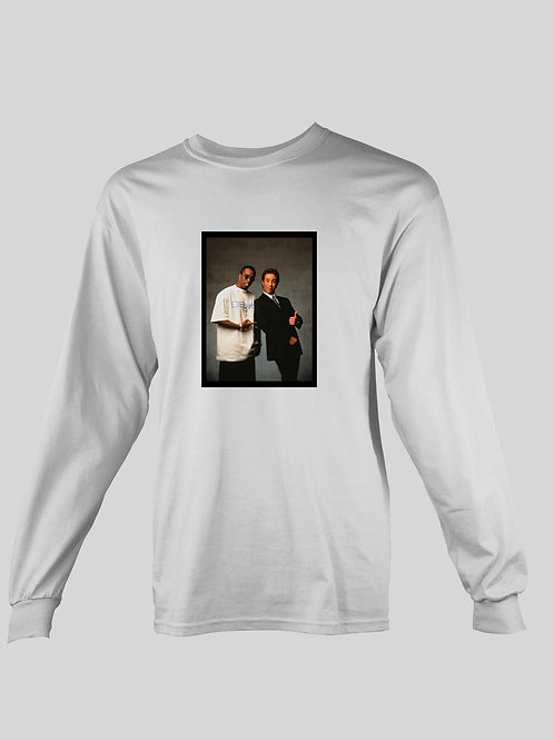 Puff Daddy and Seinfield long Sleeve T-Shirt