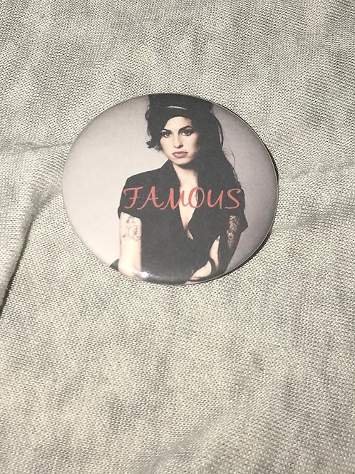 Amy Winehouse Bottle Opener Keychain