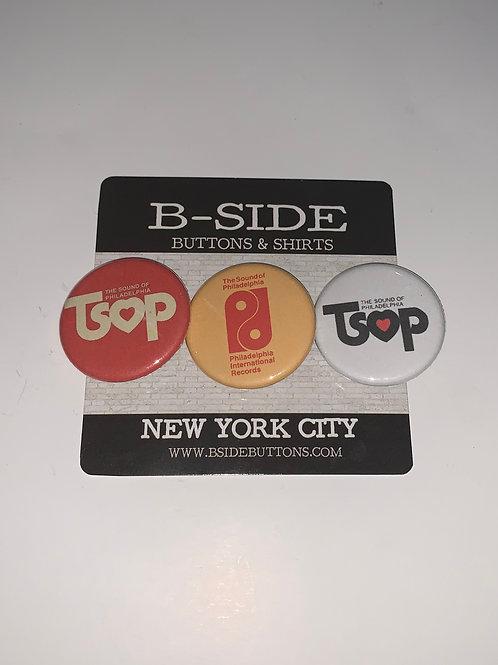 "TSOP button Pack - Size: 1.25"""