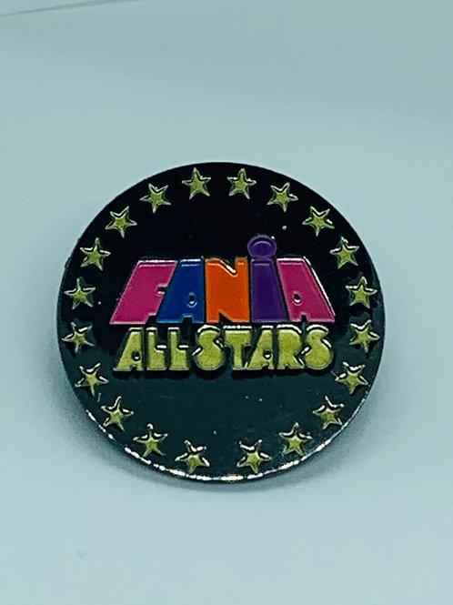 Fania All-stars Enamel Pin