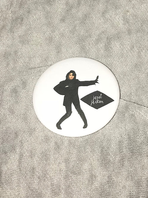 "Janet Jackson 2.25"" Big Button"