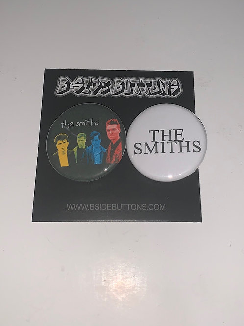 """The Smiths Button Pack - Size: 1.25"""""""