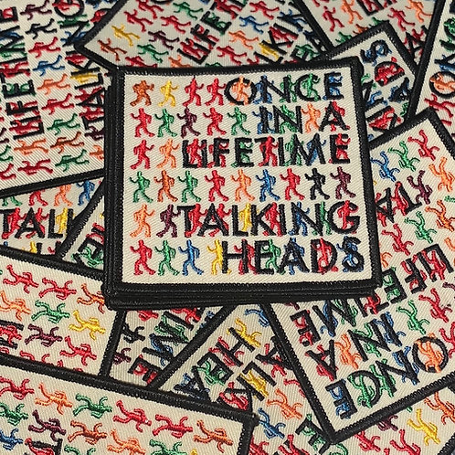Talking Heads Once In a Lifetime Patch