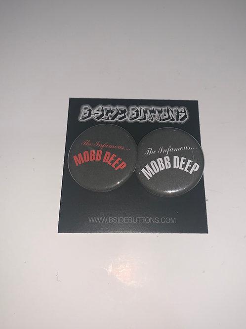 "Mobb Deep Button Pack - Size: 1.25"""