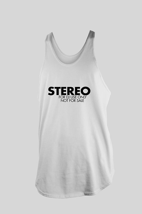 Stereo For DJ use only Tank Top