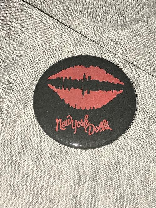 "New York Dolls 2.25"" Magnet"