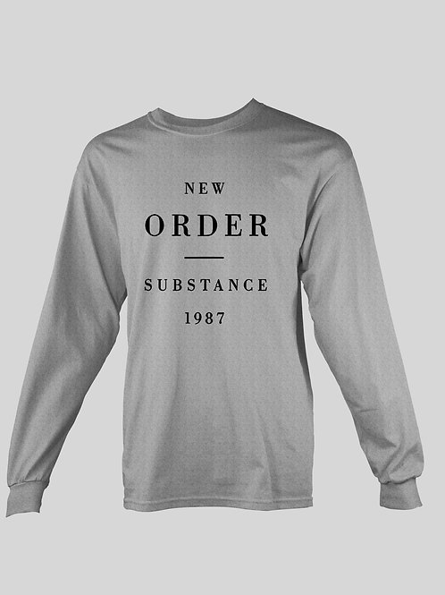 New Order Substance 1987 long Sleeve T-Shirt