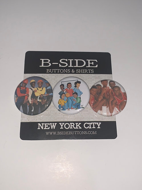 """New Edition Button Pack - Size: 1.25"""""""