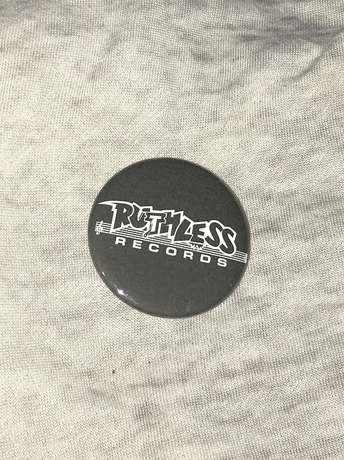 """Ruthless Records 2.25"""" Big Button"""