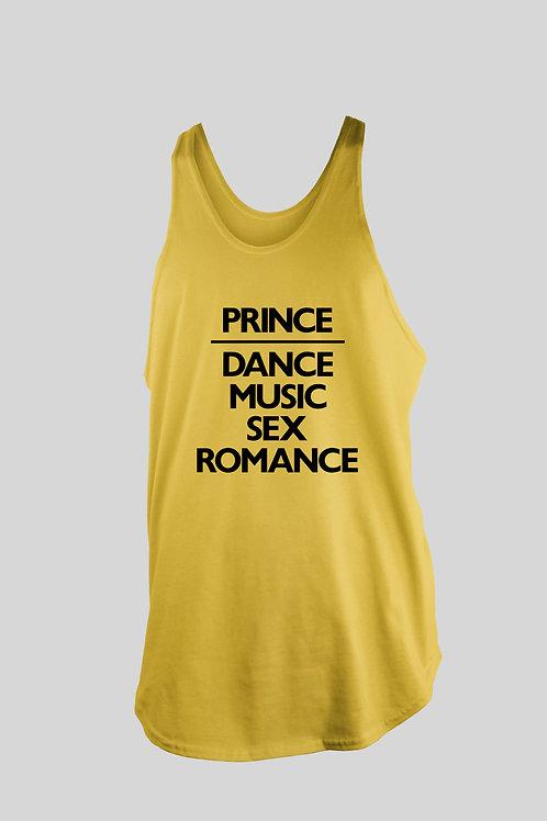 Prince DANCE MUSIC SEX ROMANCE (Dmsr) Tank Top