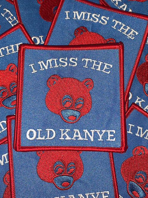 I Miss The Old Kanye (Blue and Red) Patch