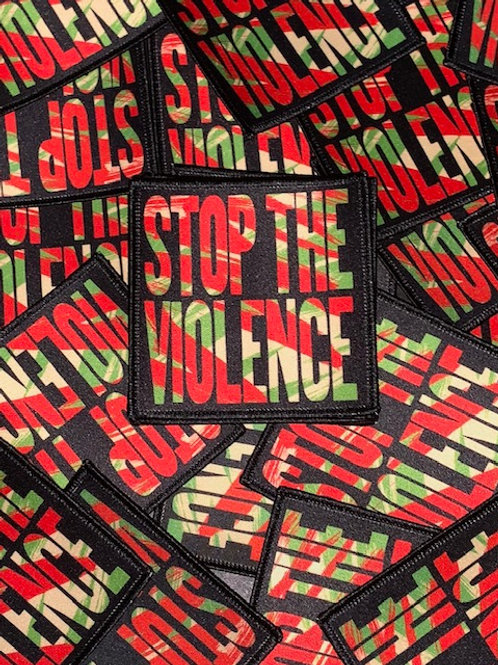 BDP Stop The Violence (Boogie Down Productions) Iron On Patch