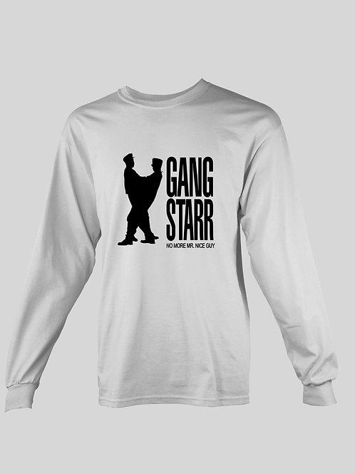 "Gang Starr ""No More Mr. Nice Guy"" long Sleeve T-Shirt"