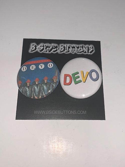 "Devo Button Pack - Size: 1.25"""