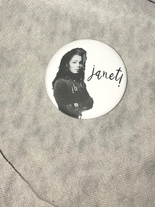 "Janet Jackson 2.25"" Magnet"
