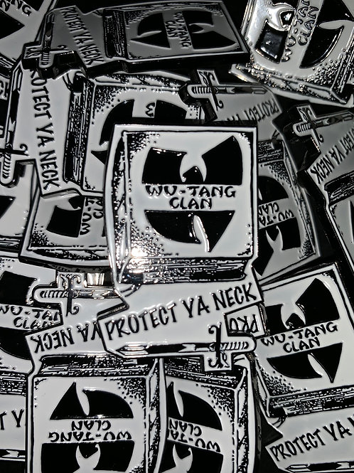 Wu-Tang Clan Protect Ya Neck Enamel Pin