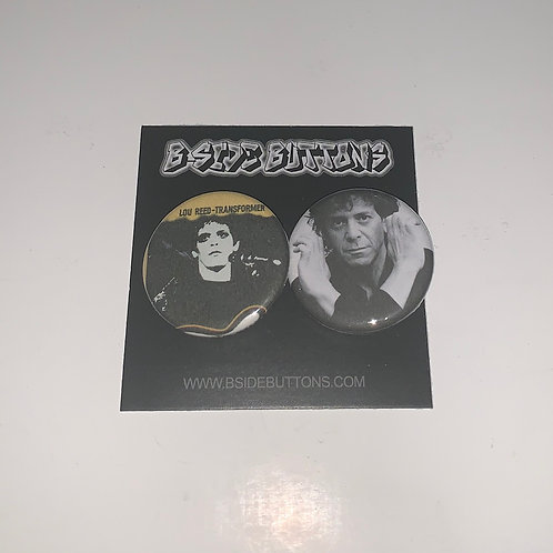 """Lou Reed Button Pack - Size: 1.25"""""""