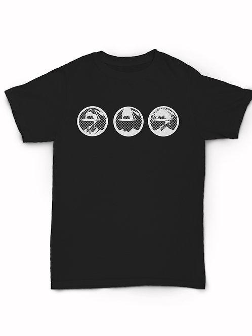 Danceteria faces logo T-Shirt