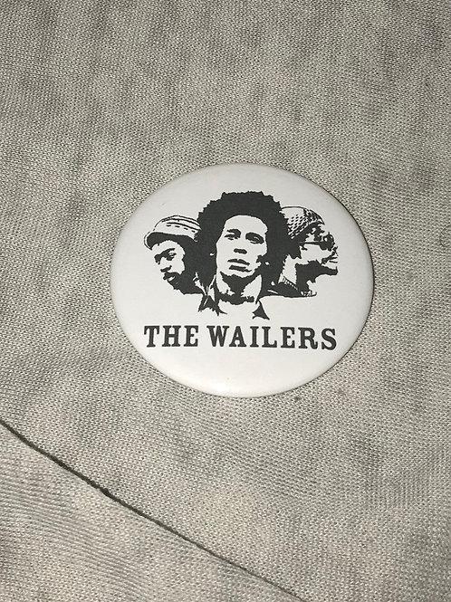 "Bob Marley and the Wailers 2.25"" Big Button"